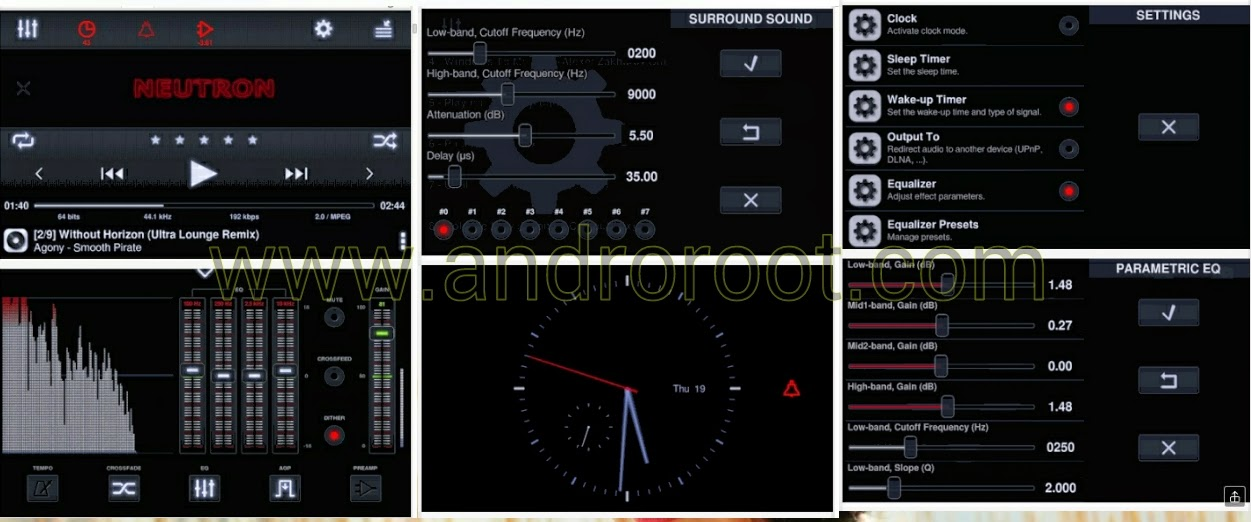 Best Top 10 music player fopr android smartphone www.androroot.com