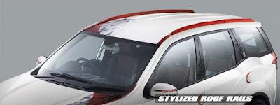 2017 Mahindra XUV500 Sportz Limited Edition roof rails