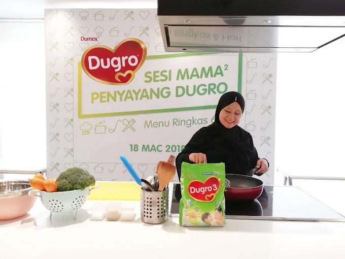Khasiat dan Kebaikan Dumex Dugro Dalam Makanan Bernutrisi Anak