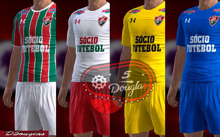 PES 2013 Kits Fluminense 2017-18 by d5ouglas