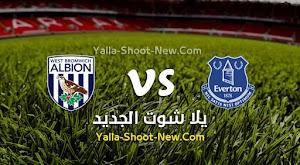 نتيجه  مباراة إيفرتون ووست بروميتش ألبيون اليوم بتاريخ 19-09-2020 في الدوري الانجليزي