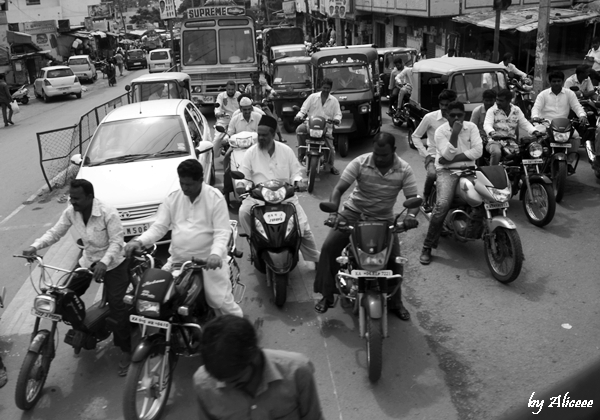trafic-In-India