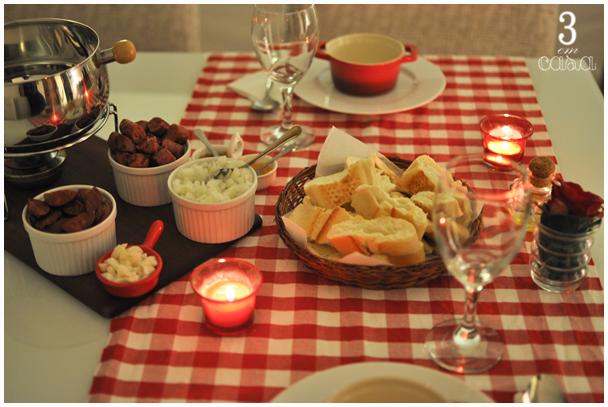 mesa posta jantar