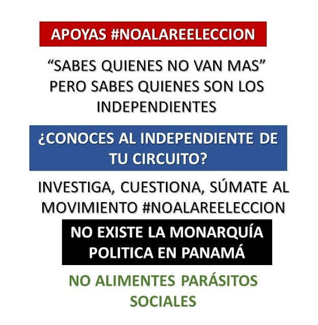 Apoyas #NoALaReelección