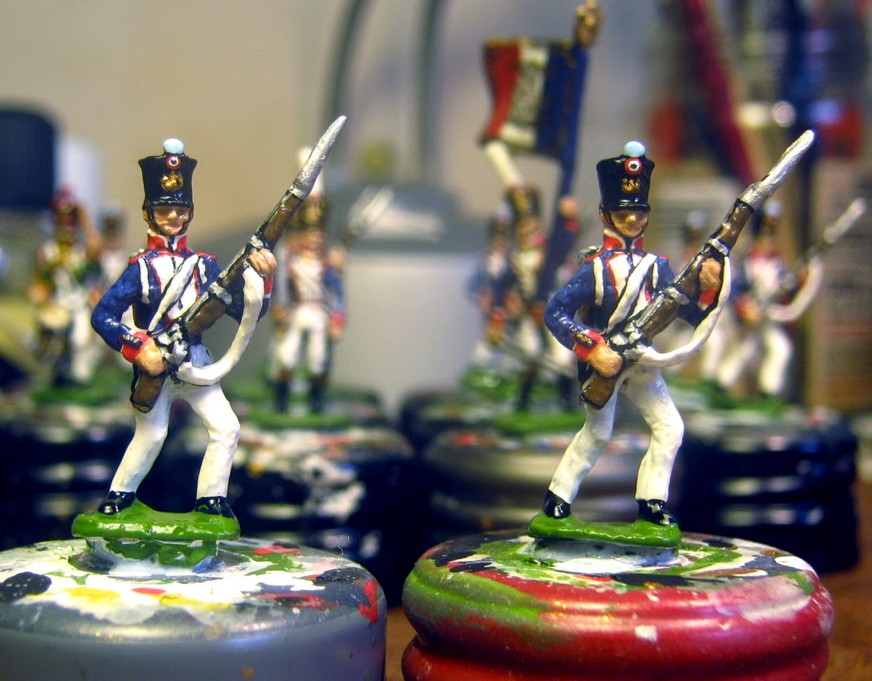 Der Kriegspielers DK 9: French Line Infantry 1812, advancing