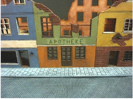 Ferb S Fighting Forces Painting My Mdf Buildings