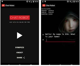 تطبيق Chat Robot Eva