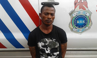 I have vandalised over 57 cars in Lagos ? Suspect