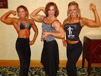 Female bodybuilding the very attractive and muscular Bodybuildera