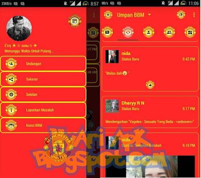 Download BBM Mod Manchester United Versi 3.0.1.25 Apk