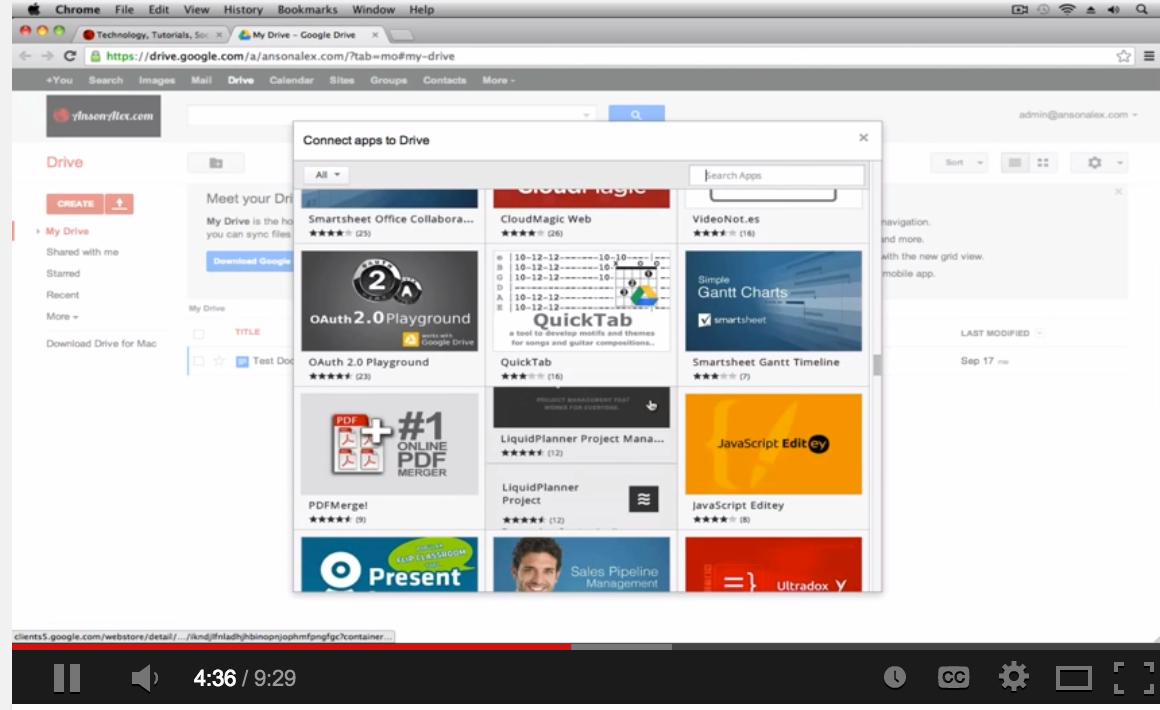 5 Great Google Drive Video Tutorials for Teachers