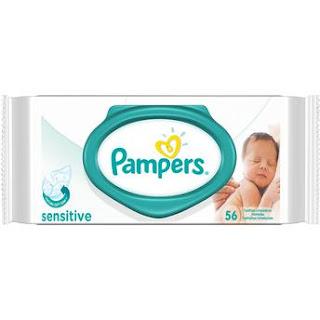 Lenços umedecidos Pampers sensitive