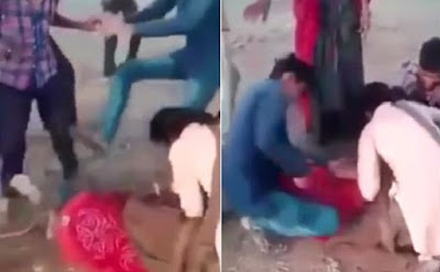 Woman Tied To Tree And Beaten In Public Video Viral