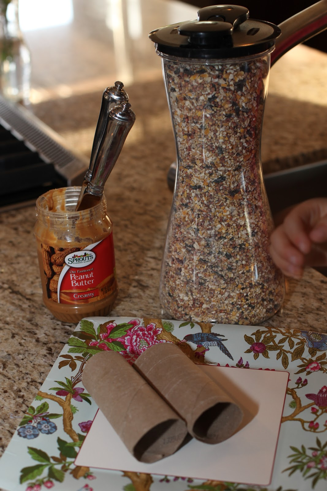 Do It Yourself: Krimey Kreations: Kid Craft: Do-it-Yourself Bird Feeder