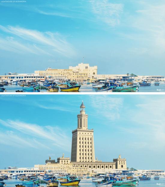 Maravilhas do Mundo na Atualidade - Farol Alexandria