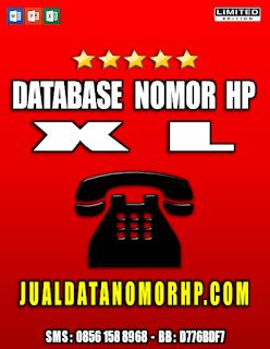 Jual Database Nomor Handphone Khusus XL
