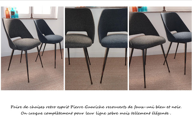 Chaises vintage Guariche