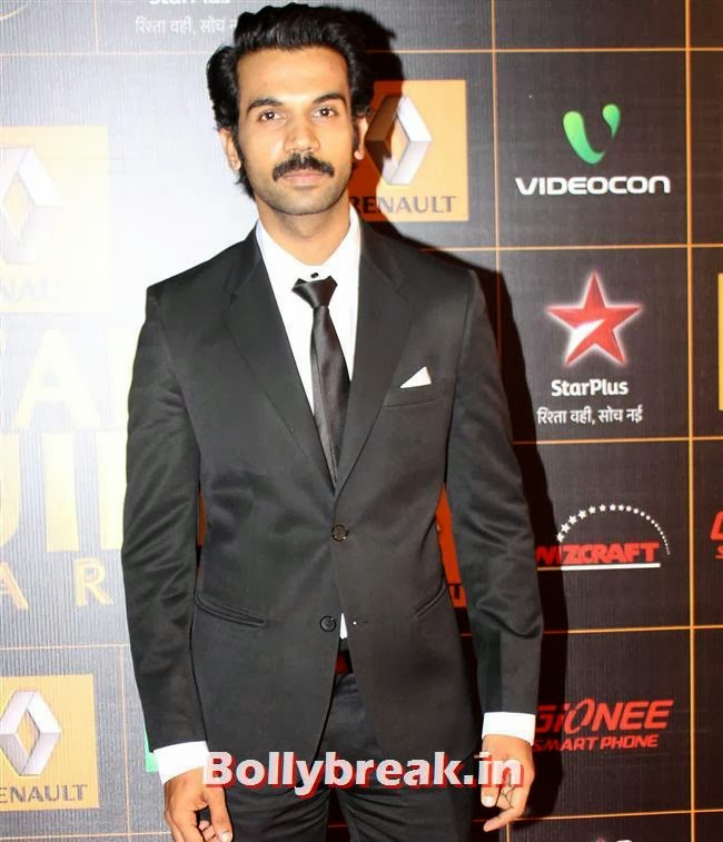 Rajkkumar Yadav, Star Guild Awards 2014 Pics