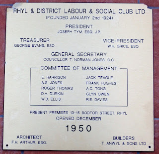 Rhyl & District Labour & Social Club