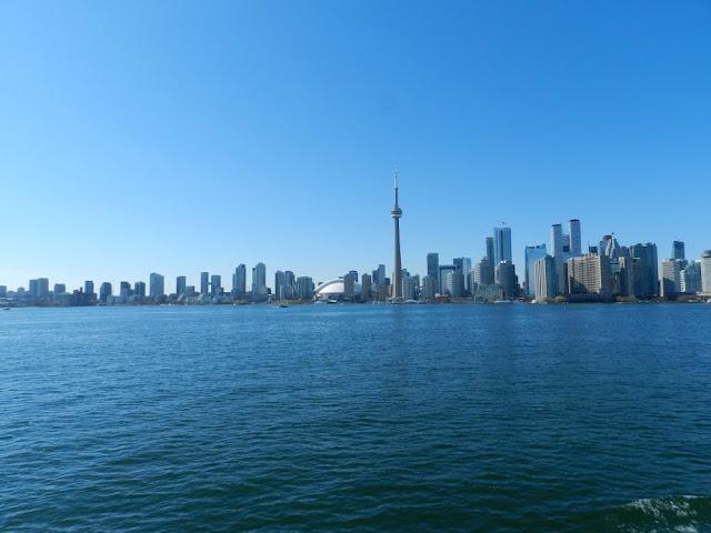 Roteiro 18 dias de trem pelo leste do Canadá - Toronto vista da Toronto Island