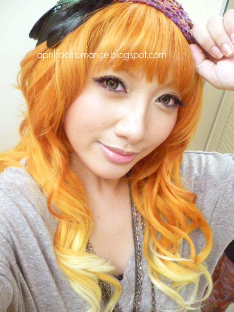 Red Hair Shades Natural Orange Hair