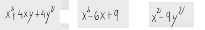 65.Factorización de polinomios e igualdades notables