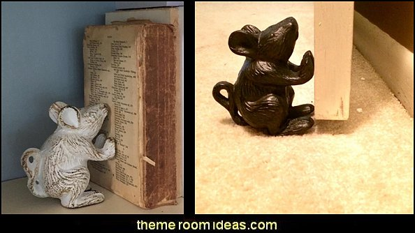 Mouse Door Stop   Gift ideas - fun novelty gift shopping ideas - gift ideas - slippers - sleep wear - personalized gifts - cool stuff to buy