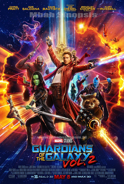 Download Film Guardians of The Galaxy Vol.2 (2017) Bluray Subtitle Indonesia 480p, 720p, 1080p