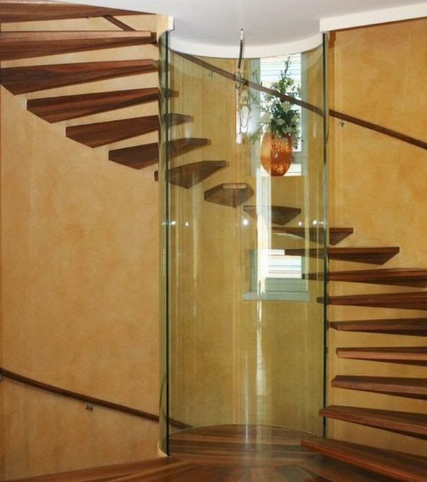 Floating Stairs Designs In Minimalism Style