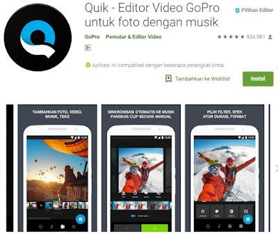 Aplikasi edit video hp android terbaik