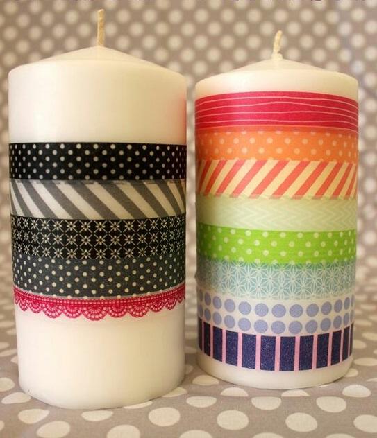 Como Decorar Facil Y Rapido Velas Comunes - Como-decorar-una-vela