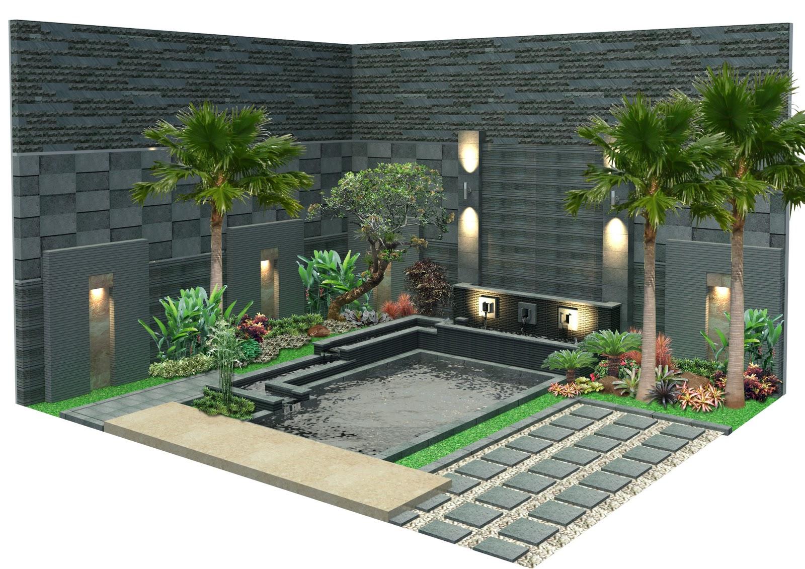 Landscaping garden and decoration contoh disaign taman