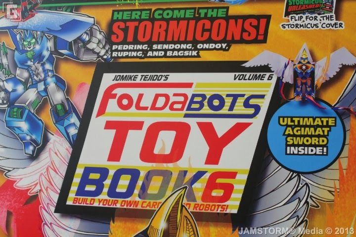 Foldabots Toy Book