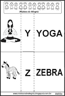 Jogo da memória do alfabeto