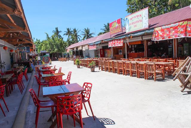 Bantayan Filipinas donde comer