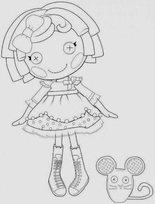 lalaloopsy coloring pages nick jr - photo#21
