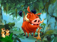Timon and Pumbaa Puzzle