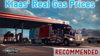 Klaas' Real Gas Prices for American Truck Simulator