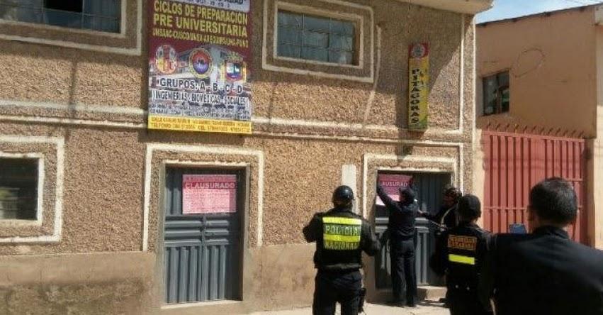 UGEL Canchis inspecciona academias de Sicuani - Cusco
