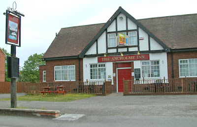 The Ancholme Inn, Brigg, in 2012 - the pub has since closed and been demolished
