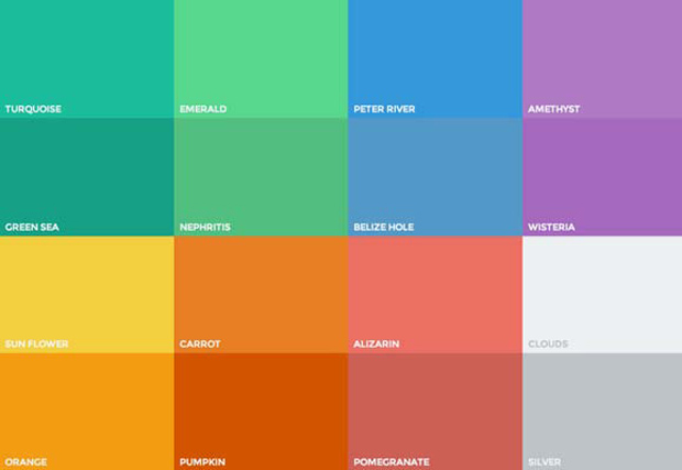 Color Palette Flat Design
