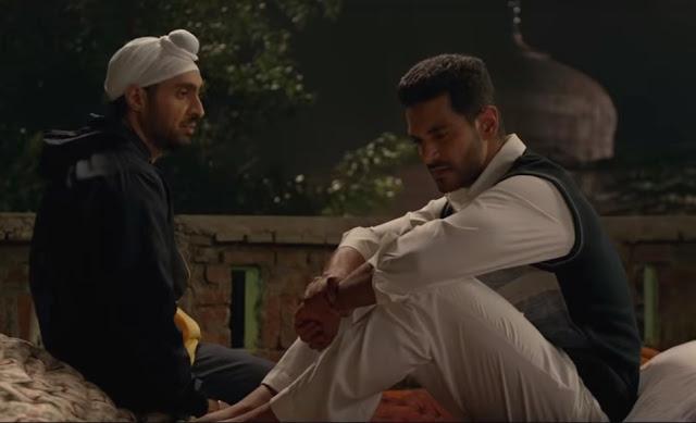 Angad Bedi in Shaadi Ali's Soorma, with Diljit Dosanj