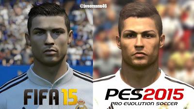 Perbandingan FIFA 2015 dan PES 2015