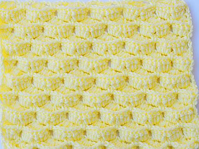 6 - Crochet- IMAGEN Puntada a crochet para mantas y cobijas-Majovel Crochet