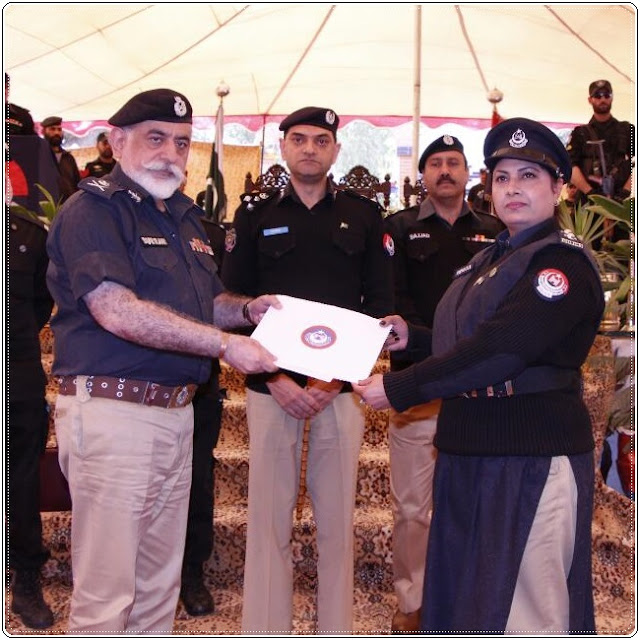 Rizwana Hameed, first female SHO in Peshawar KPK