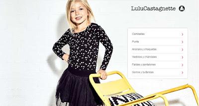 ropa para nina en oferta de la marca Lulu Castagnette