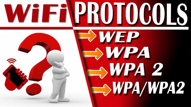 Perbedaan WEP,WPA-PSK,WPA2-PSK Pada Jaringan