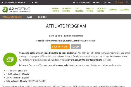 a2 hosting affiliate programs