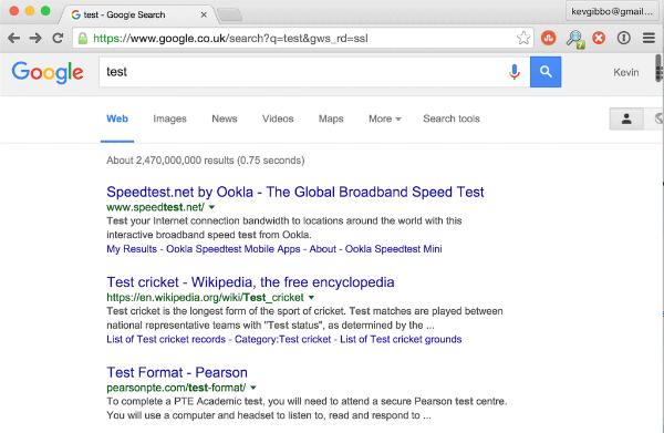 جوجل تغير طريقة ظهور نتائج البحث على محركها
