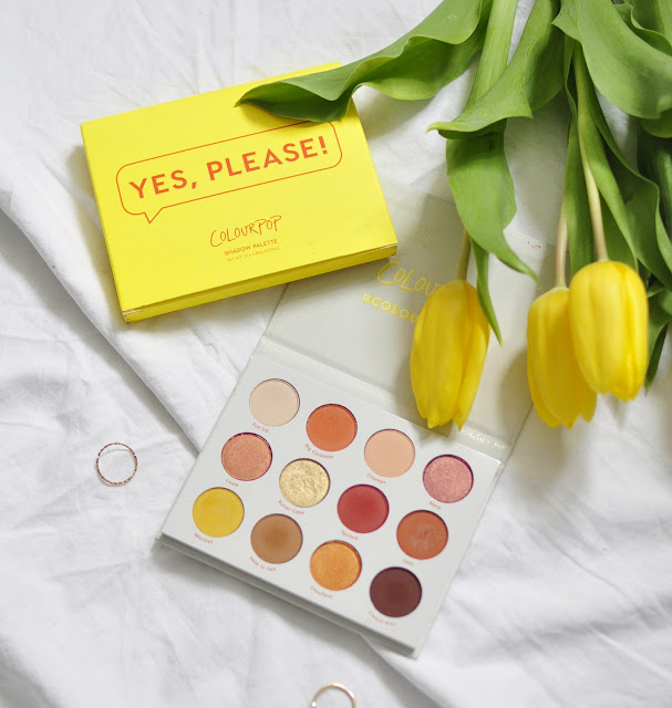 Colourpop, paleta - Yes, please!